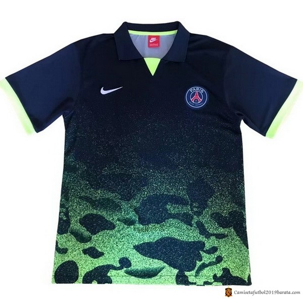 Polo Paris Saint Germain 2017/2018 Negro Verde