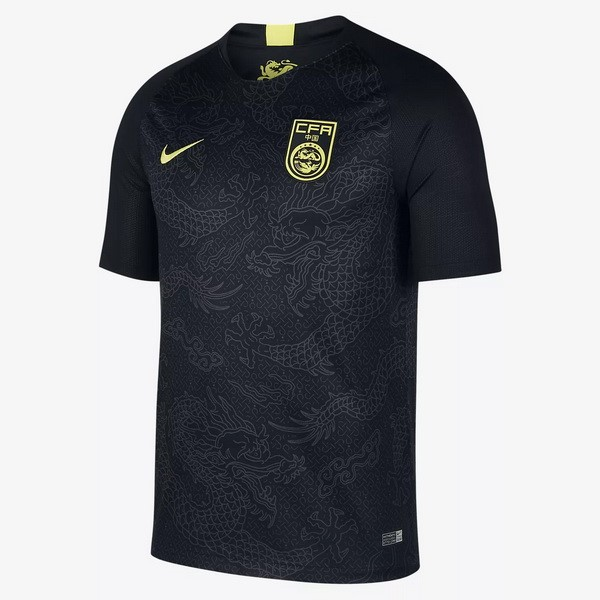 Camiseta China Replica Segunda 2018 Negro