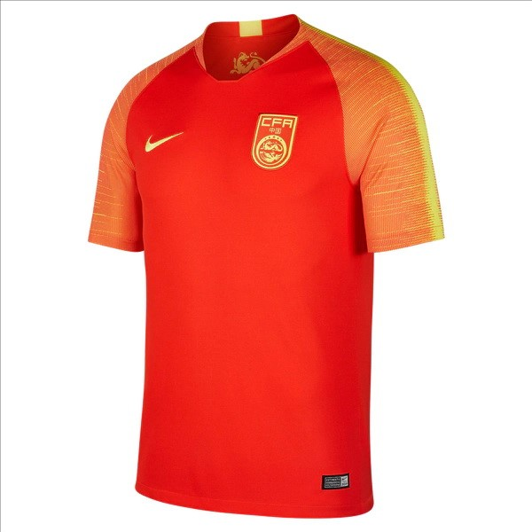 Camiseta China Replica Primera 2018 Rojo