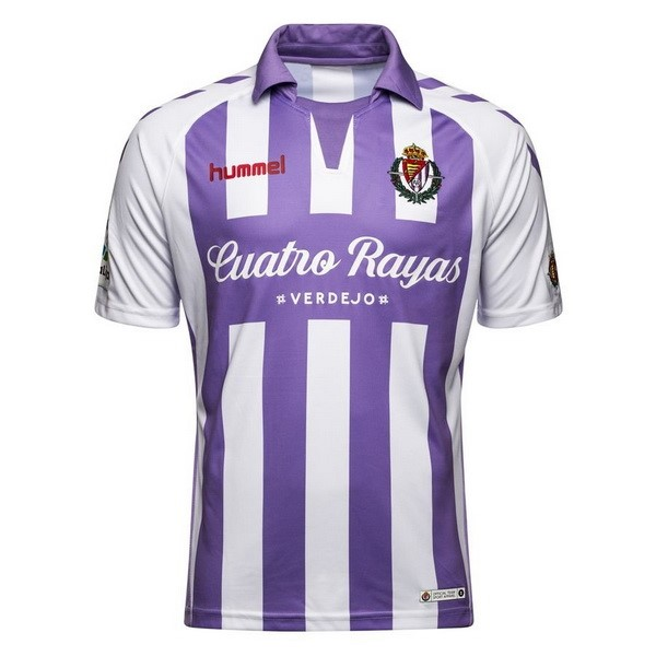 Camiseta Real Valladolid Replica Primera 2018/2019 Purpura