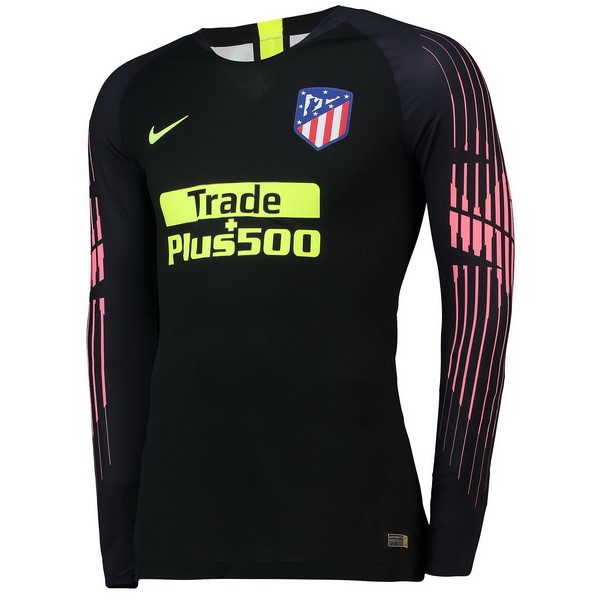 Camiseta Atletico Madrid ML Portero 2018 2019 Negro 5e13898af0475