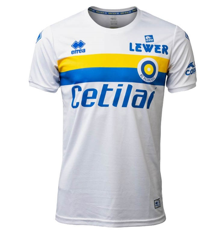 Tailandia Camiseta Parma 50th Blanco