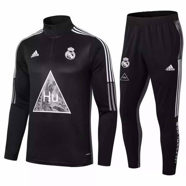 Chandal Real Madrid 2020/2021 Negro Gris