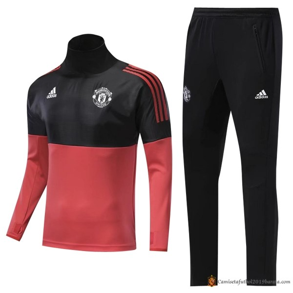 Chandal Manchester United 2017/2018 Rojo Negro
