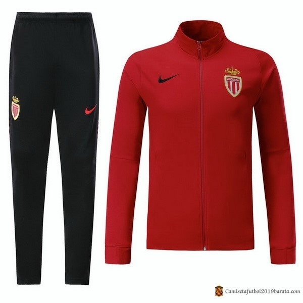 Chandal AS Monaco Niño 2017/2018 Rojo